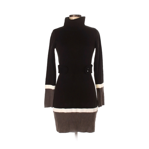 3/$21 4/$25 - iZ Byer Small Black Sweater Dress
